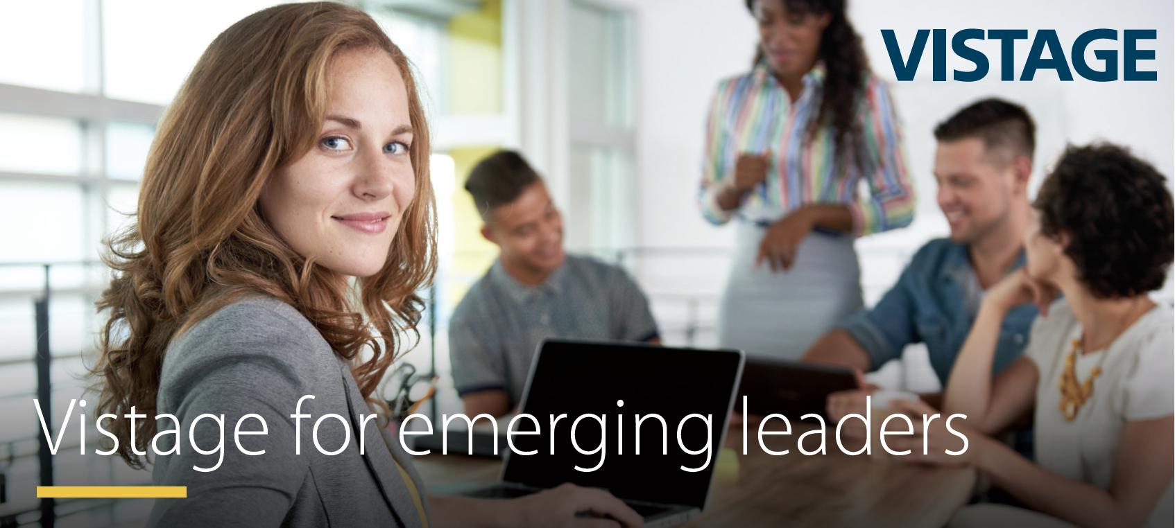 Vistage for emerging leaders